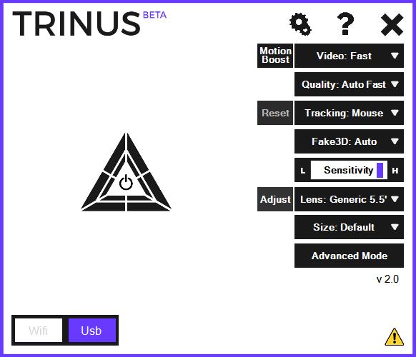 TRINUS 2 BASIC SETTING GENERIC