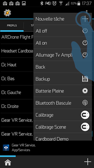 what is gear vr service app