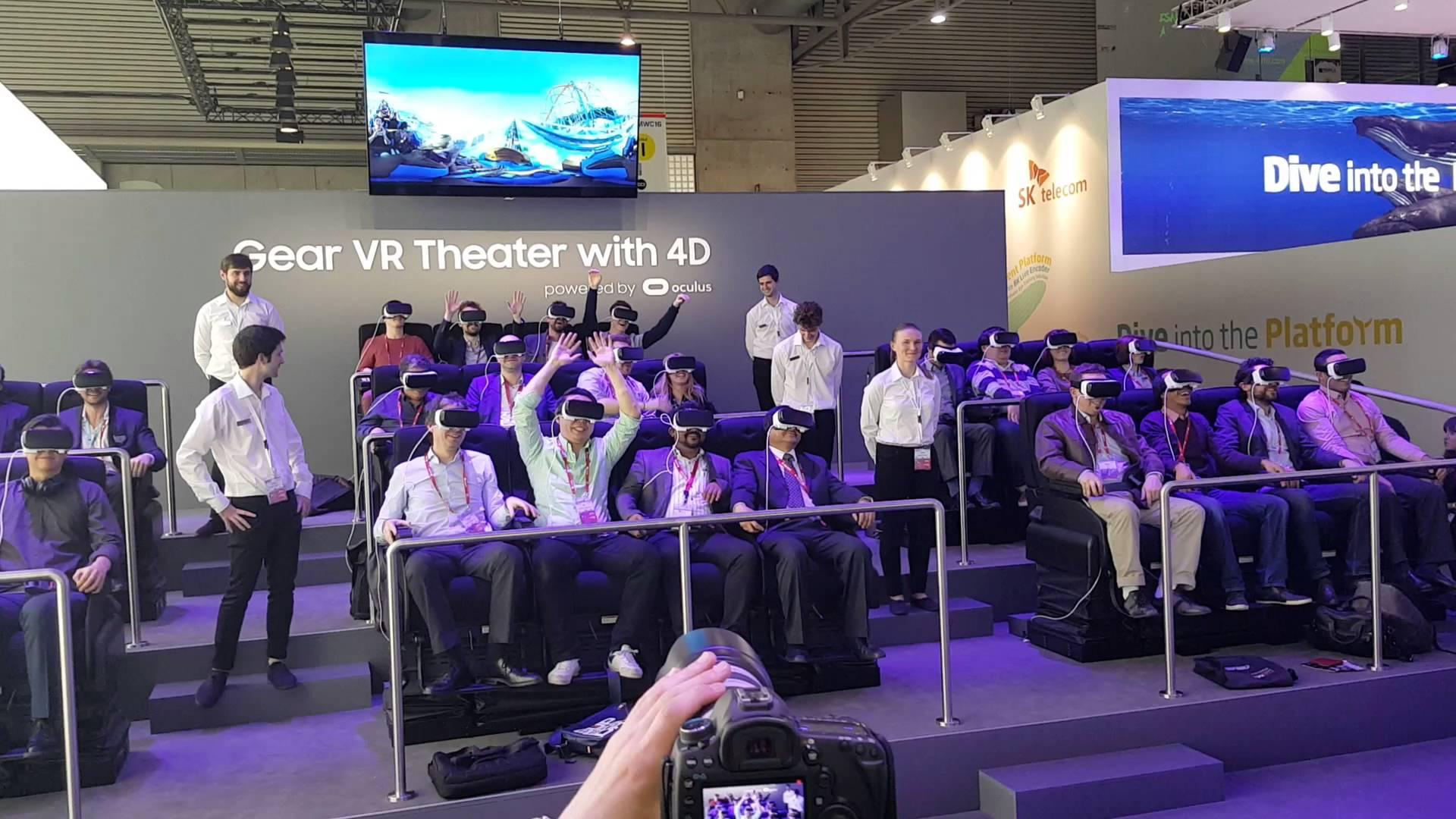Samsung Gear VR 4D